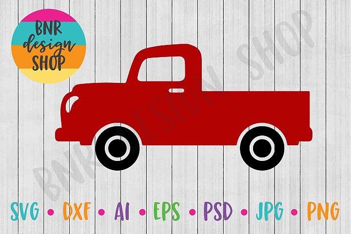 Vintage Truck SVG, SVG File, DXF File