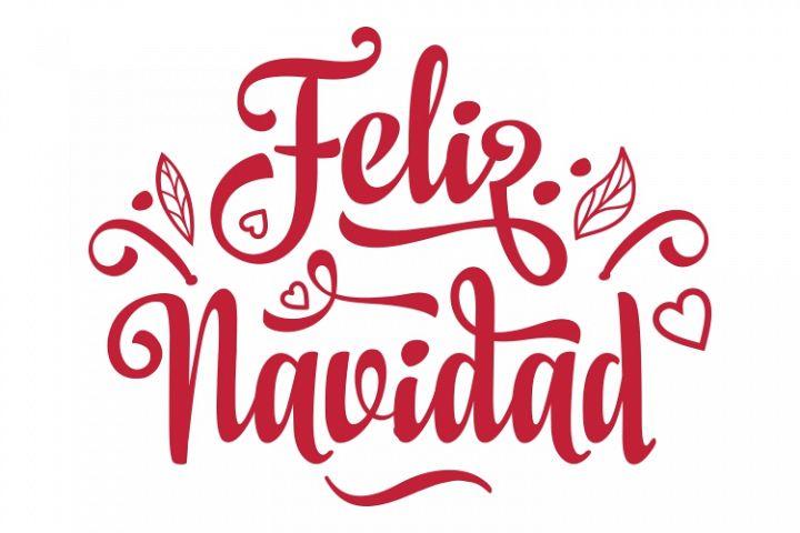 Feliz Navidad. Spanish Christmas. Spain