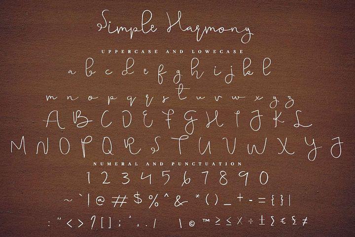 simple harmony example image 3