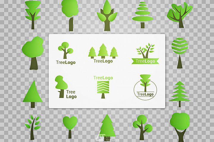 Tree Logo - Nature Design Kit