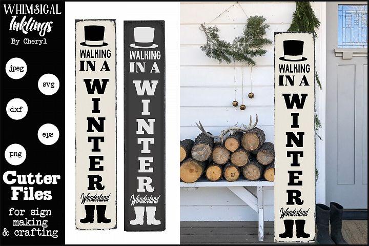 Winter Wonderland 2-Vertical SVG