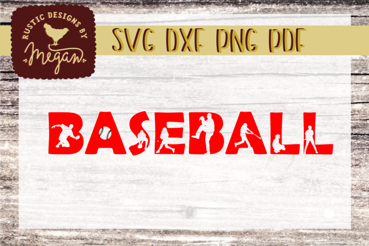 Baseball SVG DXF Cut file