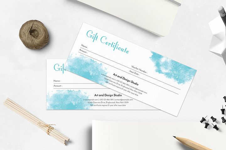 Gift Voucher/Certificate Layout
