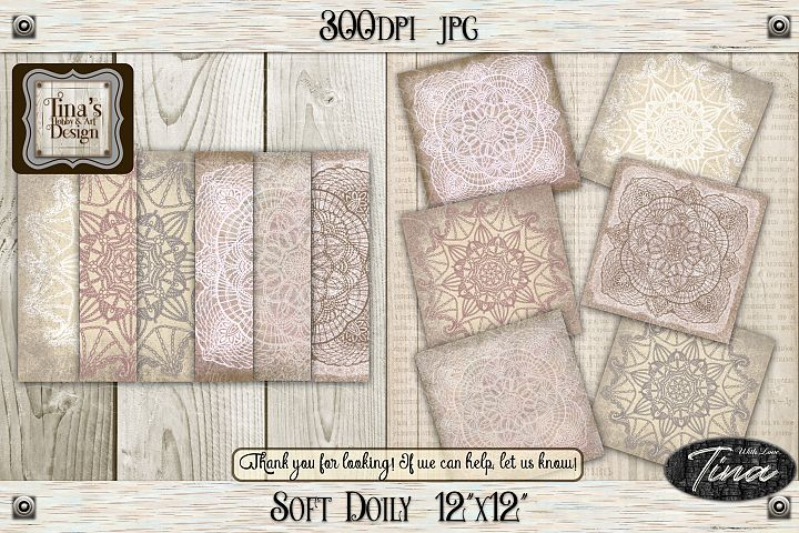 So Soft Doily Card Making Antique Dainty Feminine 111218SD12