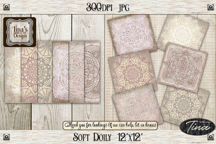 So Soft Doily Card Making Antique Dainty Feminine 111218SD12