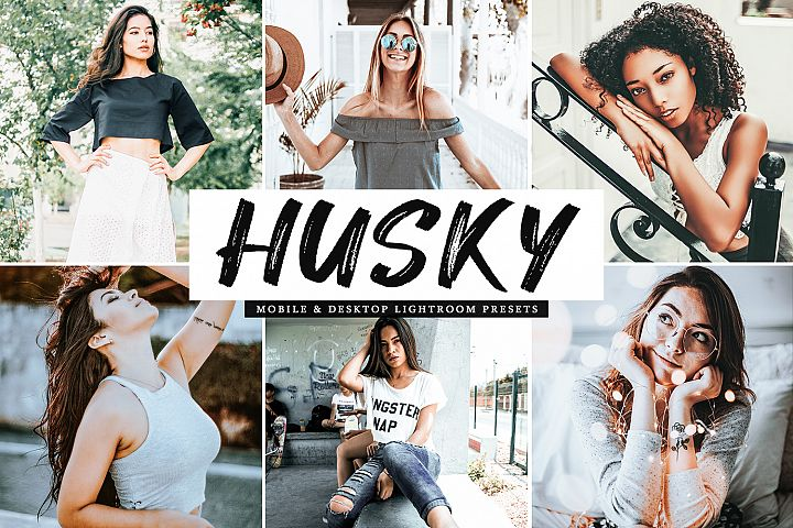 Husky Mobile & Desktop Lightroom Presets