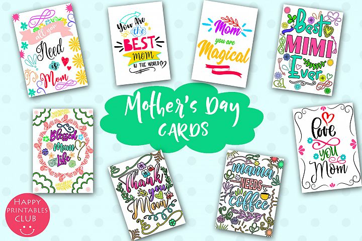 Mothers Day Cards for Moms- Happy Mothers Day Cards