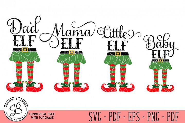 Elf Family Bundle, Elf SVG, Elf family svg