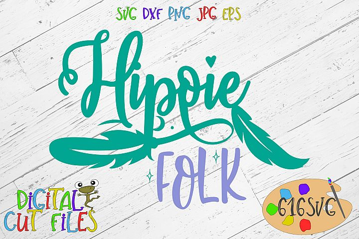 Hippie Folk SVG