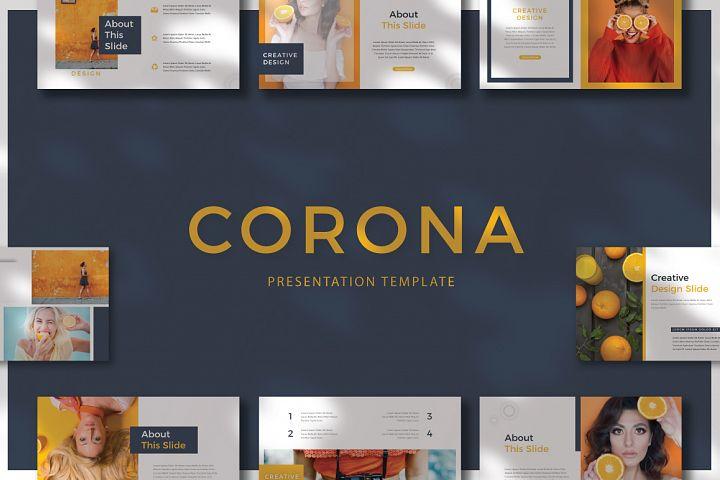 CORONA - Powerpoint