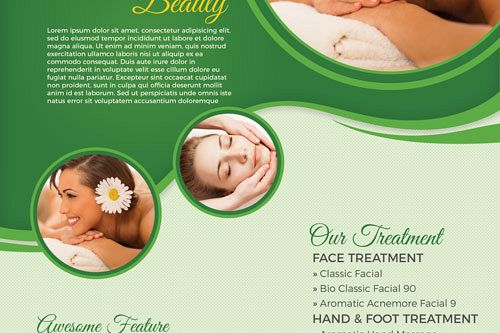 Salon & Spa Flyer