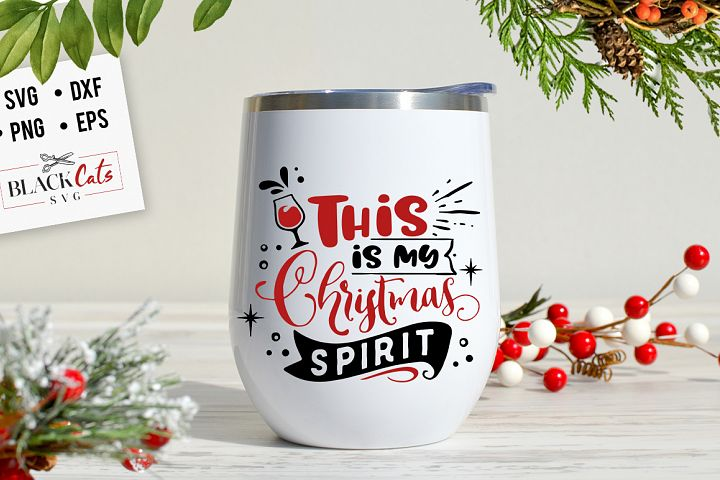 This is my Christmas spirit SVG