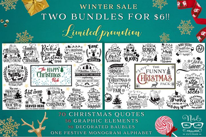 Winter Promotion - 2 Christmas Bundles and Extras