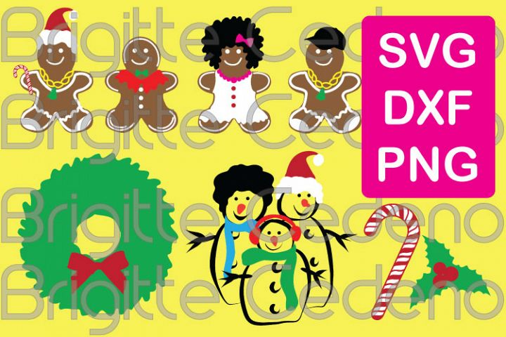 Christmas Collection 1 svg, dxf, png