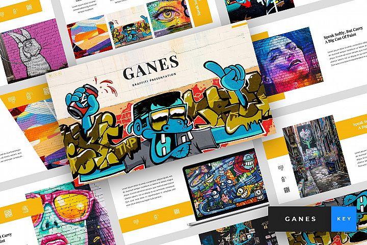 Ganes - Graffiti Keynote Template