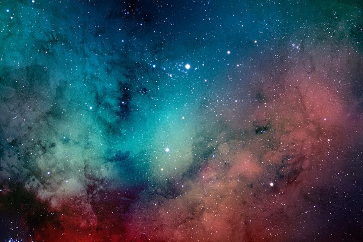 Space Watercolor Backgrounds - Free Design of The Week Design 8