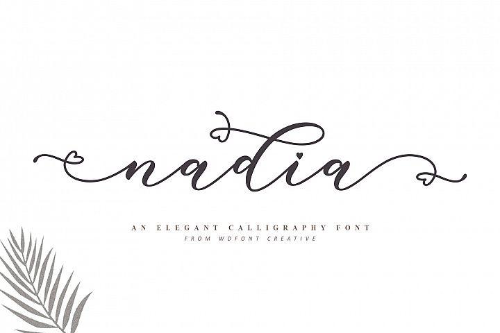 Nadia Script| Lovely Calligraphy