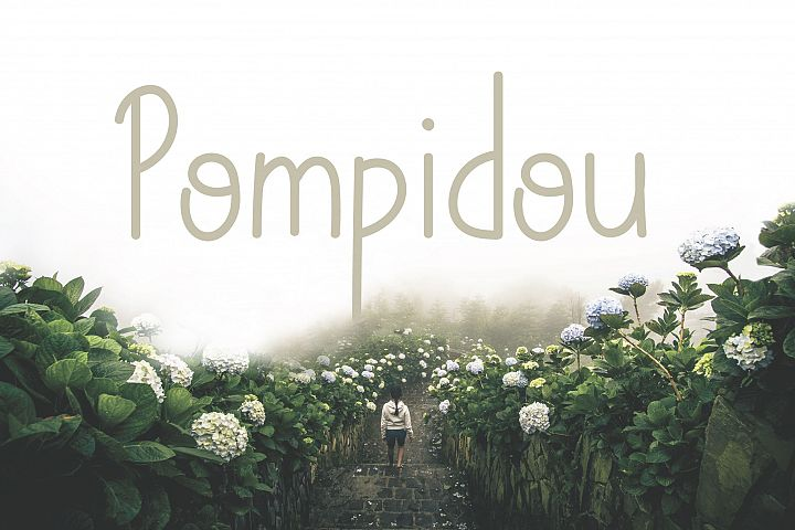 Pompidou | Sans Serif with Extras