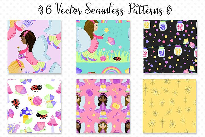 Fairy Secrets - Graphics and Patterns example 4