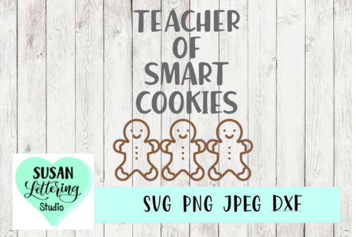 Teacher of Smart Cookies, Teacher SVG