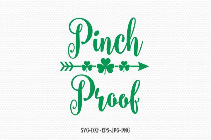 Pinch proof svg, St Patricks Day Svg