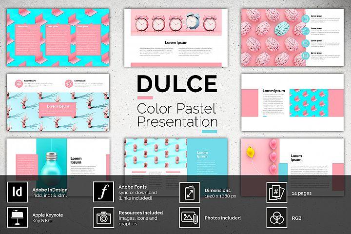 DULCE - Color Pastel Presentation