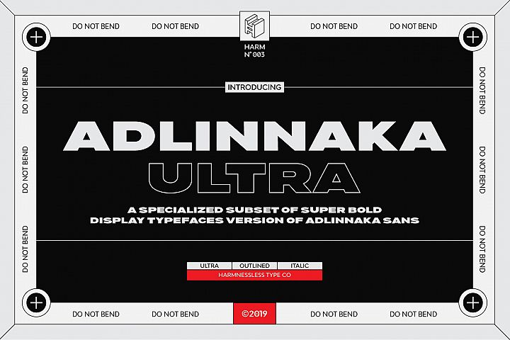 Adlinnaka Ultra - Display Fonts