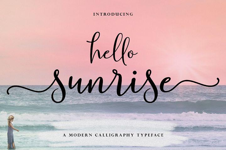 Hello Sunrise Script