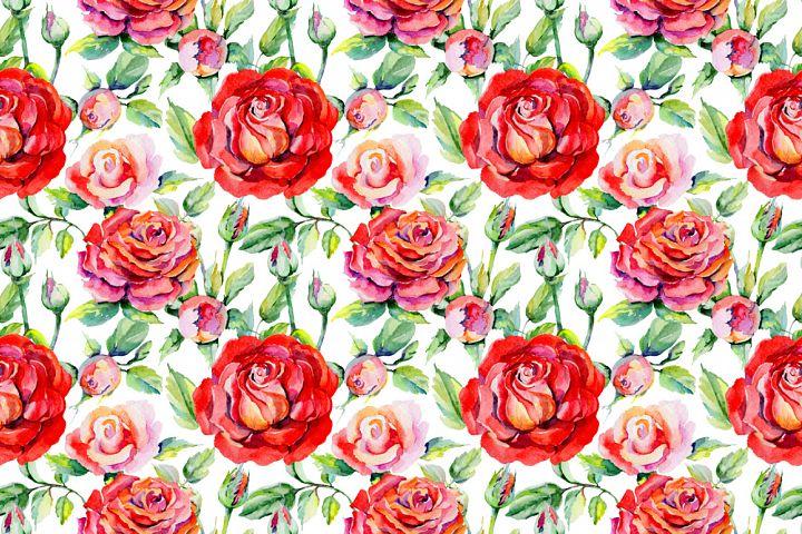 Roses PNG watercolor flower set - Free Design of The Week Design 3
