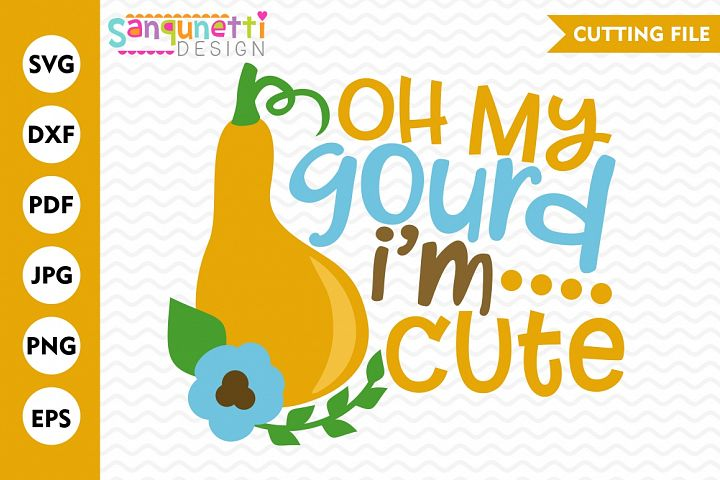 Oh my gourd SVG, Fall svg, Thanksgiving svg