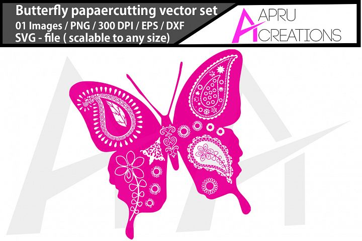 butterfly paper cutting/ butterfly paper cutting svg