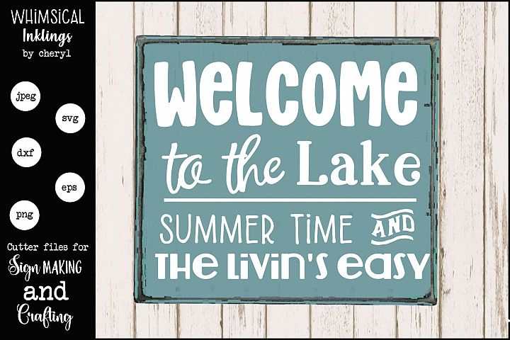 Welcome To The Lake 2 SVG