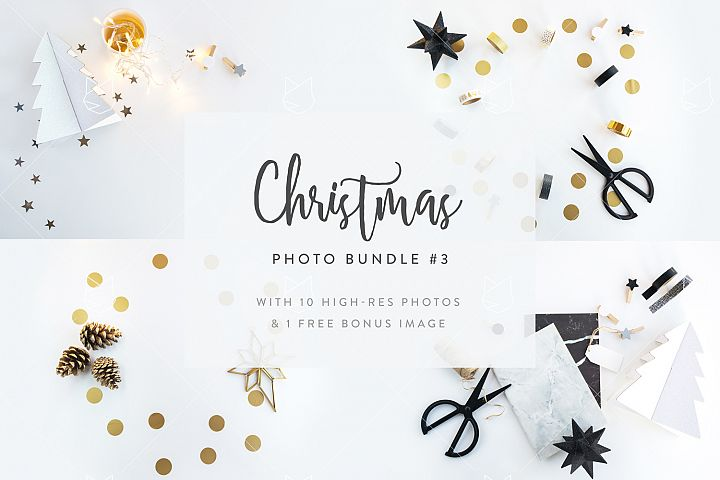 Christmas Photo Bundle #3 with FREE BONUS