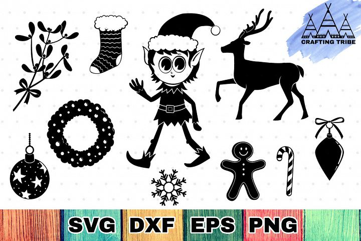 Christmas SVG Cut Files Pack