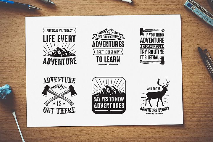 Adventure Quotes Crafts