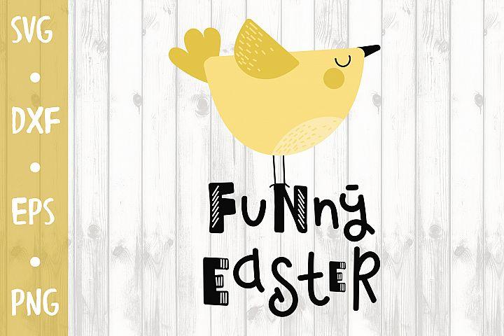 Funny Easter - SVG CUT FILE