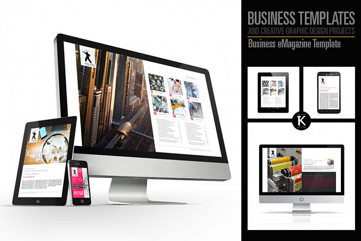 Business eMagazine Template