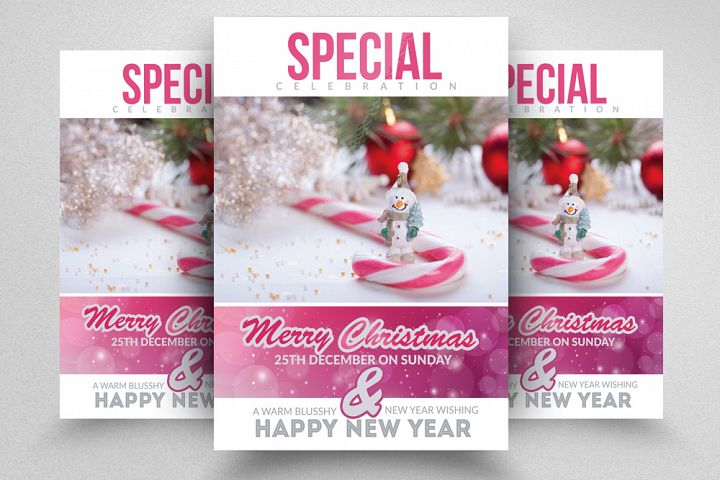 Christmas Celebration Flyer