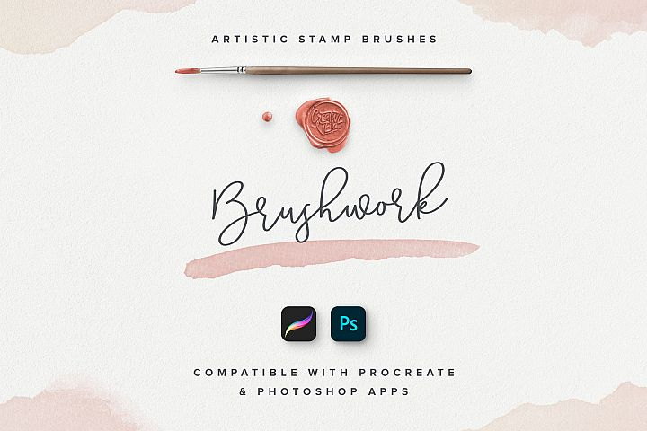 Brushwork Artistic Procreate & Photoshop brushes