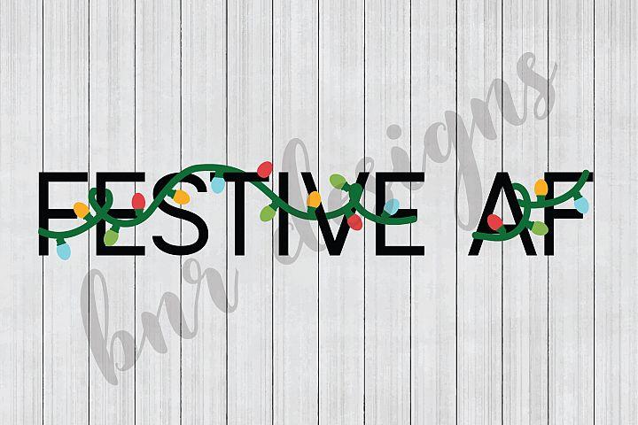 Christmas SVG, Festive SVG, SVG Files, DXF Files