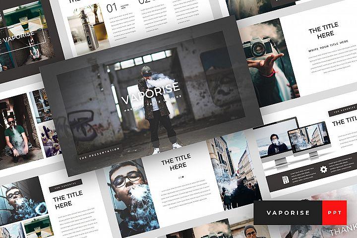 Vaporise - Vape & Vapor PowerPoint Template
