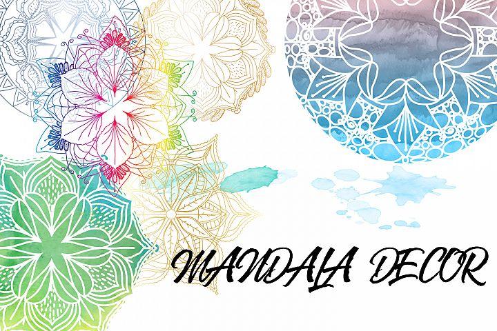 Mandala Decor bonus Watercolor