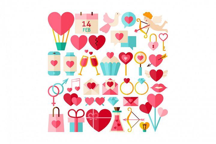 Valentine Day & Love Infographics example 2