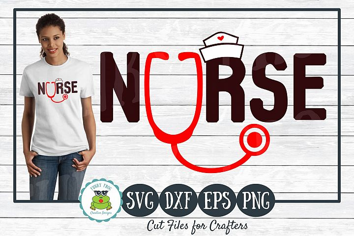 Nurse SVG Cut File for Crafters