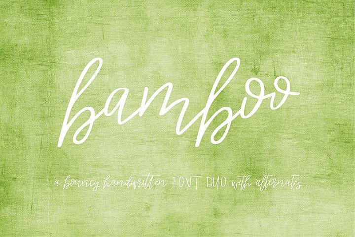 Bamboo Duo Font