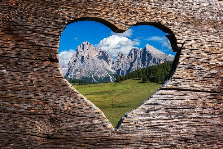 With love from the Dolomites