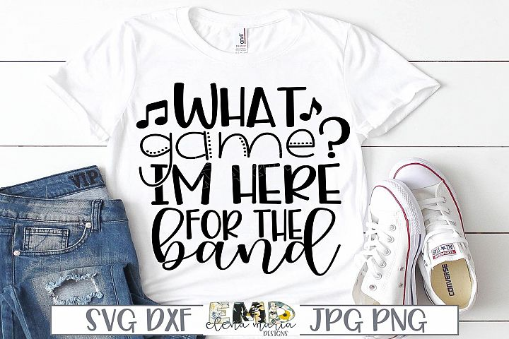 Marching Band Svg | Here For The Band Svg
