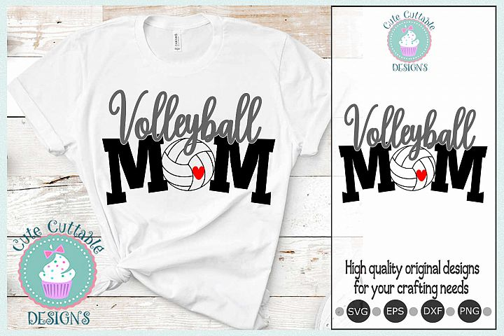 Volleyball mom svg, Volleyball biggest fan Cut File SVG