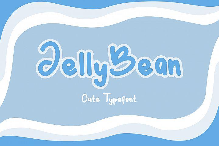JellyBean || Cute & Playful Fonts