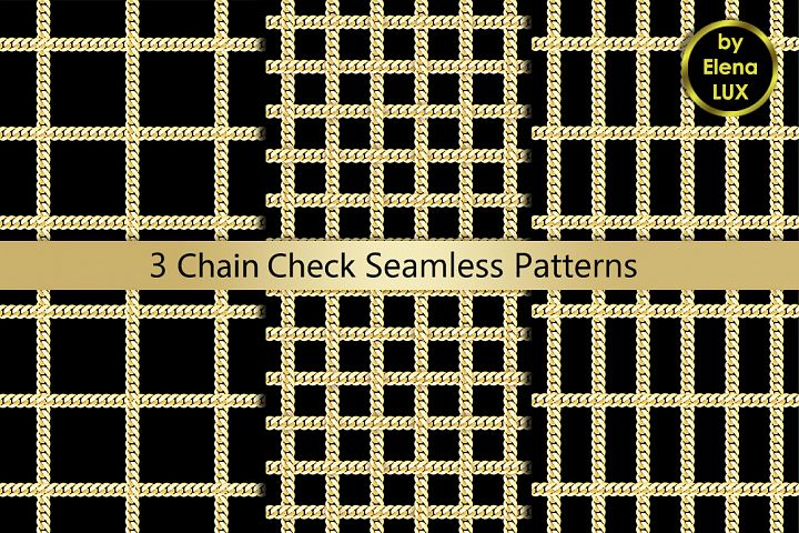 Chains Check Seamless Set